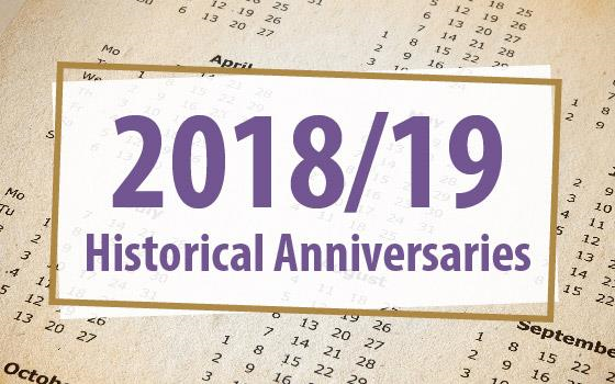 Historical Anniversaries to Look Out for This Academic Year