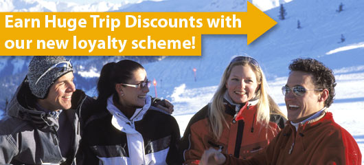 Earn huge trip discounts with our new loyalty scheme!
