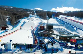 School ski holiday to bardonecchia, Italy with Halsbury Travel Ltd.