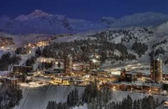 School ski holiday in La Plagne with Halsbury Travel Ltd.