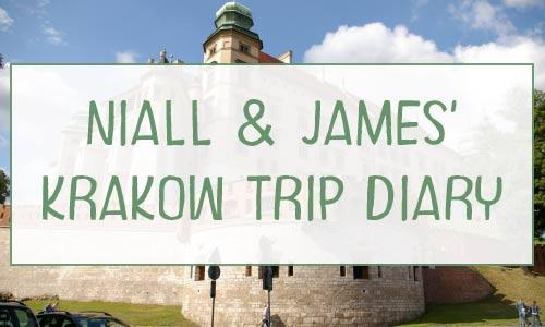 niall and james krakow trip diary halsbury travel ltd