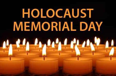 Holocaust Memorial Day 2017 Free Classroom Poster