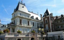 Evian town square