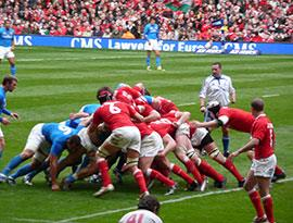 Watch Professional Rugby Fixture - Wales