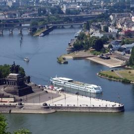 Köln-Düsseldorfer (KD) Boat Trip