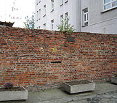 Fragments of the Ghetto Wall